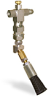 "(Formerly B1049-2X00), Angled Valve Brush, 5/8"" Round Nylon, 1/8"" Female NPT Inlet -- B1049-NR2BHW -- View Larger Image"