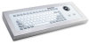 Silicone Keyboard Enclosure with 38mm Trackball -- TKG-083b-TB38-MGEH-PS/2-DE
