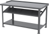 Bench, Heavy-Duty Work Bench 30x60 Steel Top -- RHWB3060GF1S