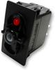 Carling Technologies V1D1BT0B-00000-000 Red Light, SPST, On-Off, 12V/20A Rocker Switch -- 44307 - Image