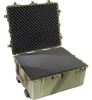 Pelican 1690 Transport Case with Foam - Olive Drab   SPECIAL PRICE IN CART -- PEL-1690-000-130 -Image