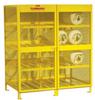 Steel Cylinder Storage Cabinet -- CAB359 -- View Larger Image