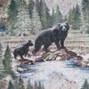 Allover Bear Tapestry Fabric -- R-Bradley - Image