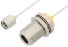 SMA Male to N Female Bulkhead Cable 60 Inch Length Using PE-SR047FL Coax, RoHS -- PE34153LF-60 -Image