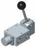Lever Operated (Detented) Spring Return Spool Valves, 1600 Series