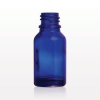 Glass Bottle, Blue -- 30023 -Image