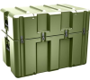 Pelican AL3620-1710 Single Lid Truck Shipping Case with Foam and Casters - Olive Drab -- PEL-AL3620-1710RPFC137 -Image