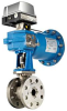 Neles® Finetrol Eccentric Rotary Plug Valve For Control Services -- FC/FG Series - Image