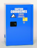 Eagle 12 gal Blue Hazardous Material Storage Cabinet - 23 in Width - 35 in Height - Bench Top - 048441-33363 -- 048441-33363 - Image