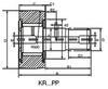 Stud Type Track Roller -- KR22 | KRE22 -- View Larger Image