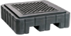 PIG Heavy-Duty Poly Spill Containment Pallet -- PAK987 - Image