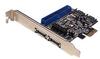 SIIG DP SATA 6Gb/s PCIe i/e -- SC-SA0K11-S1