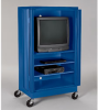 ATLANTIC METAL Mobile Audio-Visual Cabinets with Full-Length Doors -- 4146126