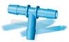 HB Eldon James Antimicrobial HDPE Hosebarb Tees -- 64919