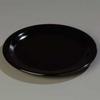 Dinner Plate,9 In,Black,PK 48 -- 14D115