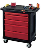 RUBBERMAID Mobile Work Center -- 5249900 - Image