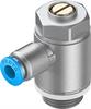 GRLA-3/8-QS-6-D One-way flow control valve -- 193149