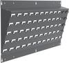 Panel, Lean Panel, 35.5x2.5x13.25 1-Pk, Gray -- 30637A