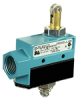 MICRO SWITCH E6/V6 Series Medium-Duty Limit Switches, Top Roller Plunger Actuator, 1NC 1NO SPDT Snap Action, 0.5 in - 14NPT conduit -- BZE6-RQ8X2 -Image