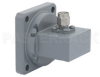 WR-102 Square Cover Flange to SMA Male Waveguide to Coax Adapter Operating from 7 GHz to 11 GHz -- PE9811 - Image