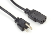 6.5-ft. Power Cord, NEMA 5-15P to IEC-60320-C13 -- EPXR08 - Image