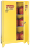 90-Gallon Flammable Liquid Safety Tower Storage Cabinet -- CAB122-L-YELLOW