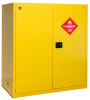 PIG Vertical Drum Safety Cabinet with Rollers -- CAB746 -- View Larger Image