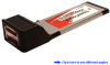 Dual Channel Serial ATA 6Gb/s (SATA 3) ExpressCard -- ECSA230