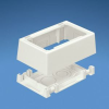 Device Outlet, 1G White PVC -- 07498376783-1