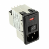 Power Entry Connectors - Inlets, Outlets, Modules -- 1-6609951-3-ND - Image
