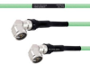 Temperature Conditioned Low Loss RA N Male to RA N Male Cable LL335i Coax in 100 cm -- FMHR0252-100CM -Image
