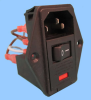 3 Function Single Fuse Power Entry Module; Wired -- 83543550
