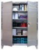 Stainless Steel Floor Model Cabinet -- 65-243SS