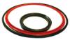 Large Bore Piston Ring -- Rectangular Door Seal