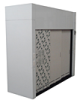 8ft Polypropylene Walk In Style Exhausted Fume Hood -- ID-WI-96-FH