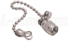 SMA Protective Cap for Female, with Chain -- BA09