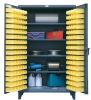 4-Shelf Bin Storage Cabinet -- 46-BS-244 - Image