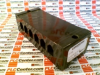 TERMINAL BLOCK, BARRIER, 6POS, 18-6AWG; CONNECTOR TYPE:BARRIER TERMINAL BLOCK; SERIES:1100; CONNECTOR MOUNTING:PANEL; PITCH SPACING:11.11MM; NO. OF CO -- 1106