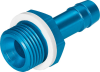 Barb tubing fitting -- N-1/4-P-9 -Image