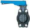 FE Series PVC Butterfly Valve -- GFE Model - Image