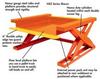 Floor Level Lift Table -- HXZ50-20-PB -Image
