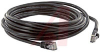 Cable, Patch; 14 ft.; 24 AWG; Unshielded Twisted Pair; Booted; Black; UL Listed -- 70081238