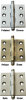 Solid Brass Cabinet Hinges with Ball Tips -- 838310