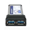 Dual Channel SuperSpeed USB 3.0 ExpressCard -- 3305-SF-06