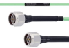 Temperature Conditioned Low Loss N Male to N Male Cable LL142 Coax in 48 Inch -- FMHR0174-48 -Image