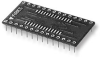 Series 45000X-11-RC & 65000X-11-RC SOIC & SOJ-to-DIP Adapter – RoHS/WEEE-Compliant - Image