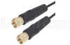 ThinLine Coaxial Cable F Male/Male 1.0 ft -- CTL1F-1