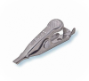 304 Stainless Mini-Alligator Clip with Smooth Jaws -- BU-34X - Image