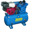 Jenny 11-HP 30-Gallon Truck-Mount Two-Stage Air Compressor -- Model W11HGB-30T