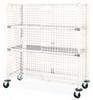 Wire Security Cart,900 lb.,36 In. L -- MQSEC53DE